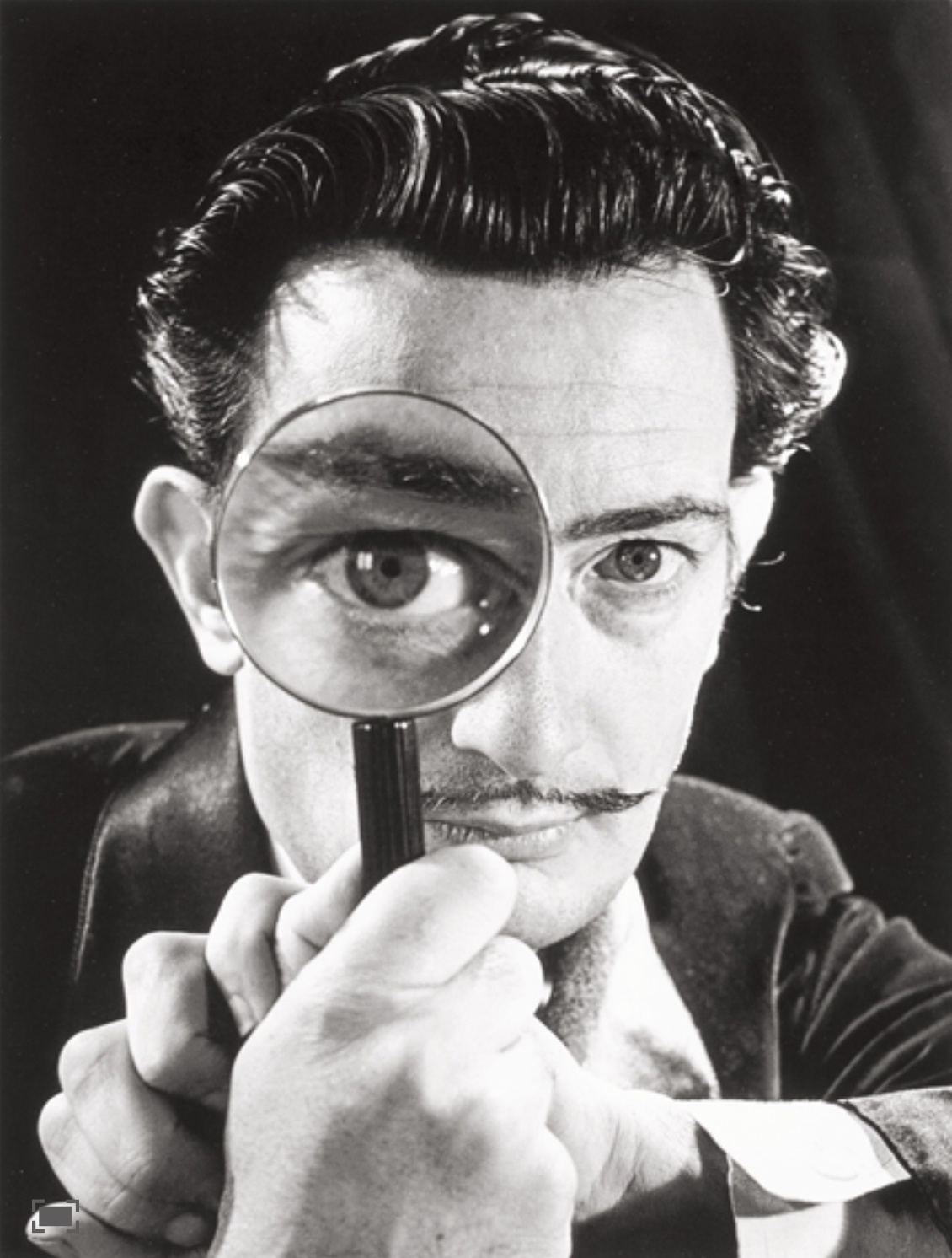 FIG 13 DALI WITH GLASS