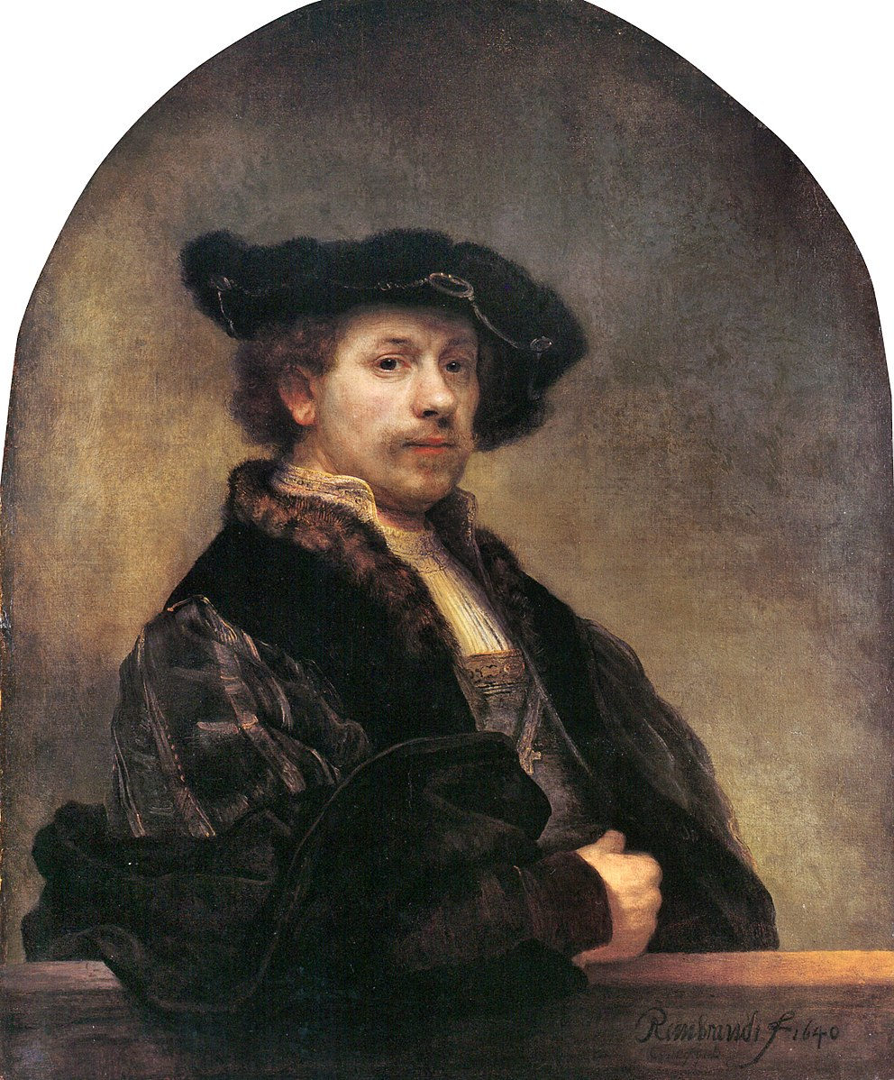 Fig. 17 Rembrandt Autoritratto 1640 National Gallery Londra