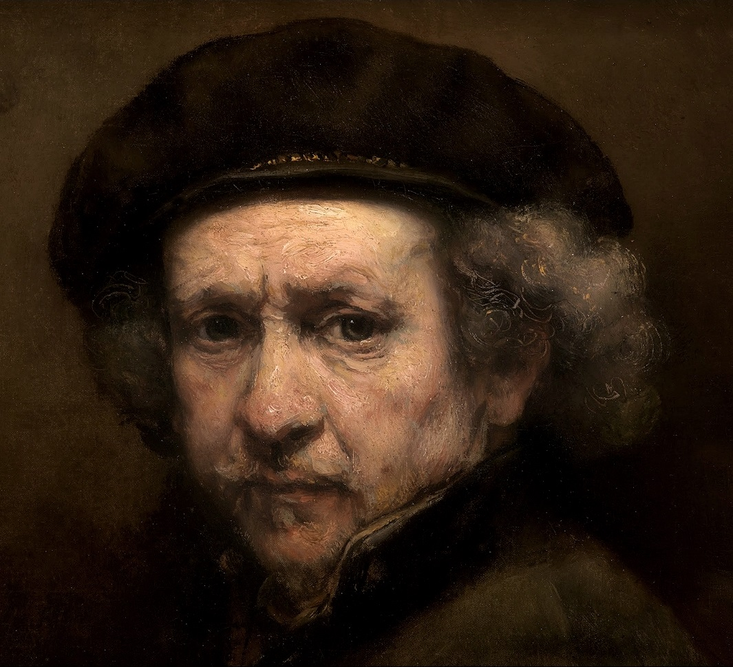 Fig. 18 Rembrandt Autorìitratto 1659 National Gallery. Washingrton