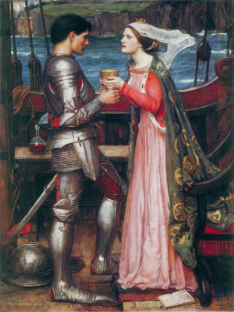 john william waterhouse 13 tristan and isolde