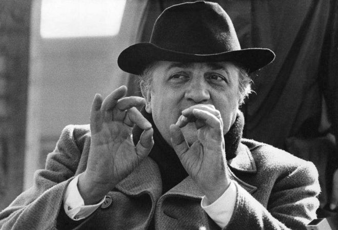 Fellini, il cinema e Roma